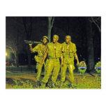 Monumento de guerra de Vietnam en el Washington DC Postales