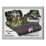 Monumento de guerra de Vietnam Posters