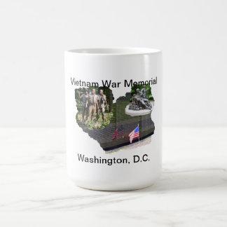 Monumento de guerra de Vietnam Tazas