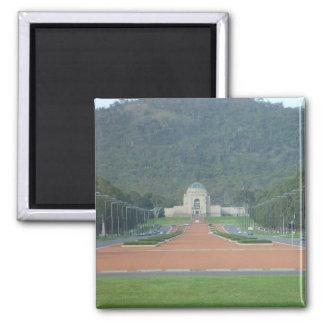 Monumento de guerra en Canberra en Ter capital aus Imán Cuadrado