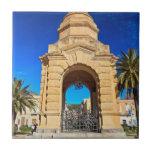 Monumento de guerra en Carloforte Azulejo Cerámica