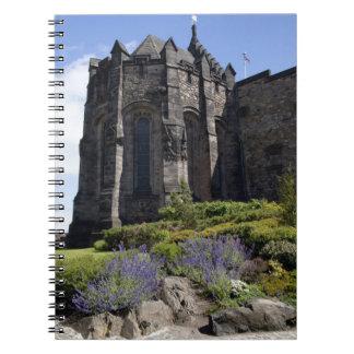Monumento de guerra nacional escocés Edimburgo Libro De Apuntes Con Espiral