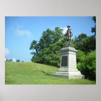 Monumento de Hickenlooper Póster