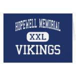 Monumento de Hopewell - Vikingos - joven - Aliquip Felicitaciones