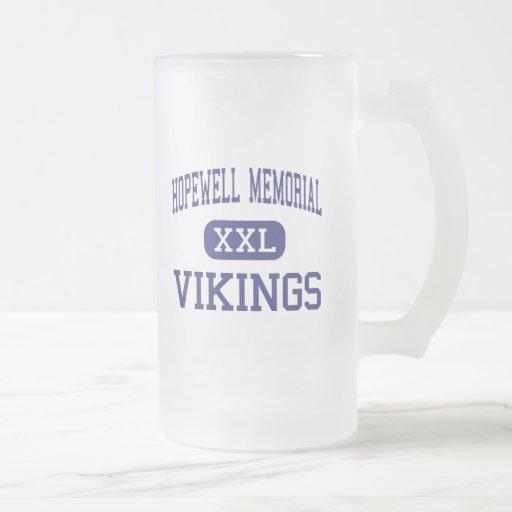 Monumento de Hopewell - Vikingos - joven - Aliquip Tazas De Café
