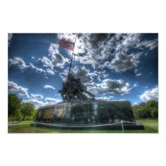 Monumento de Iwo Jima (formato grande) Fotografía