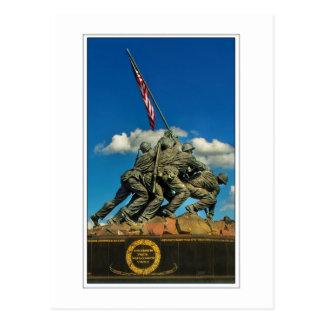 Monumento de Iwo Jima Tarjeta Postal