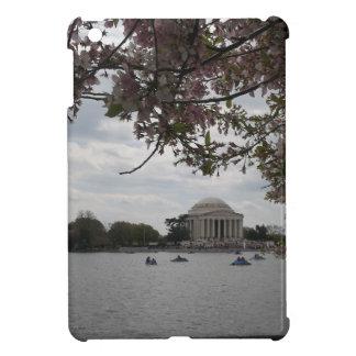 Monumento de Jefferson durante festival de la flor iPad Mini Carcasas