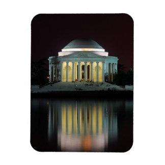 Monumento de Jefferson Imán Rectangular