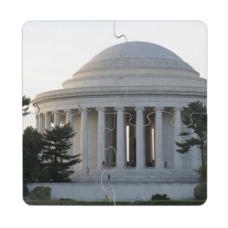 Monumento de Jefferson Posavasos De Puzzle