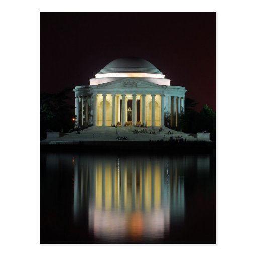 Monumento de Jefferson Postal