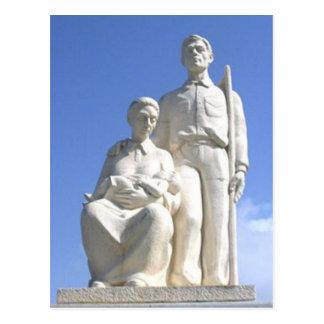 Monumento de Jibaro Tarjeta Postal