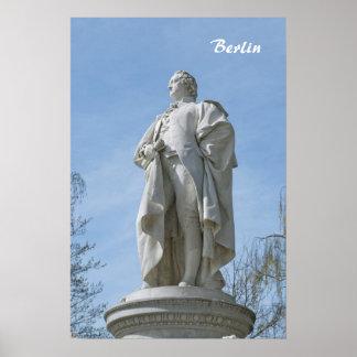 Monumento de Johann Wolfgang von Goethe en Berlín Impresiones
