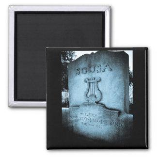 Monumento de John Philip Sousa Imán Cuadrado
