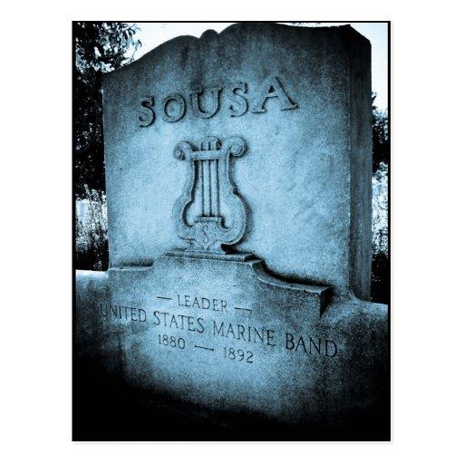 Monumento de John Philip Sousa Postal