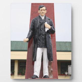 Monumento de Jose Rizal ciudad de Tacloban Placas De Plastico