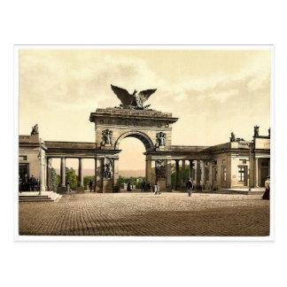 Monumento de Krieger, Thor, avenida de Cassel, Cas Tarjetas Postales