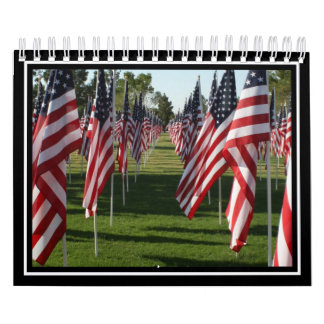 Monumento de la bandera americana (1) calendarios de pared
