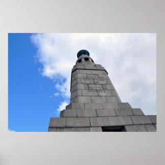 Monumento de la ley de Dundee - foto original Posters