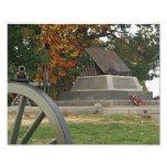 Monumento de la marca de apogeo, Gettysburg, PA Fotografia