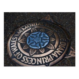 Monumento de la Princesa de Gales Postales