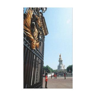 Monumento de la reina Victoria - Londres Lienzo Envuelto Para Galerías