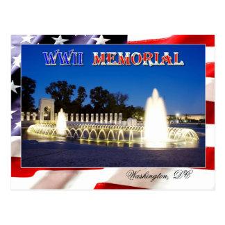 Monumento de la Segunda Guerra Mundial en Postales