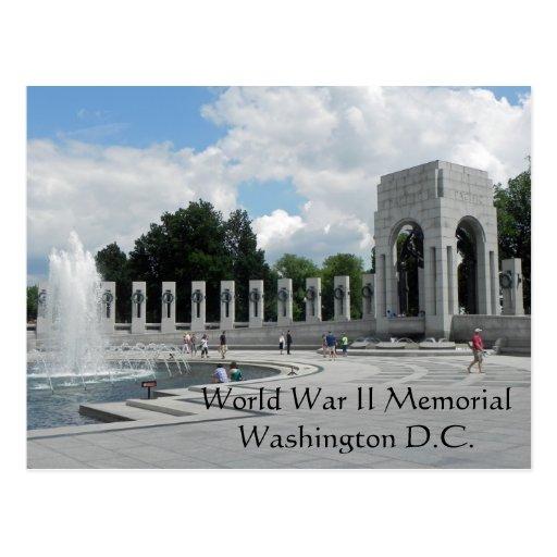 Monumento de la Segunda Guerra Mundial Postales