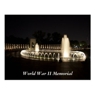 Monumento de la Segunda Guerra Mundial Tarjetas Postales