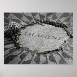Monumento de Lennon Posters