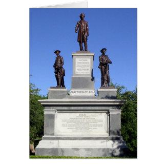 Monumento de los soldados confederados, Austin, Te Tarjeta