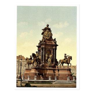 Monumento de Maria Teresa, mag de Viena, Austro-Hu Postal