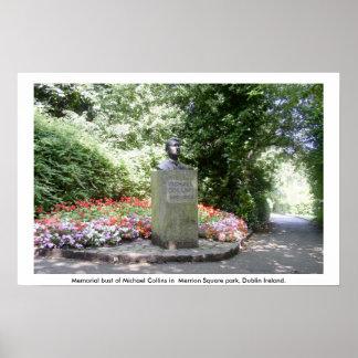 Monumento de Michael Collins, Dublín Póster