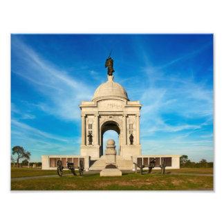 Monumento de Pennsylvania - parque nacional de Fotografía