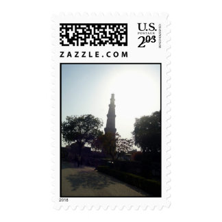 Monumento de Qutub Minar- la India Sellos