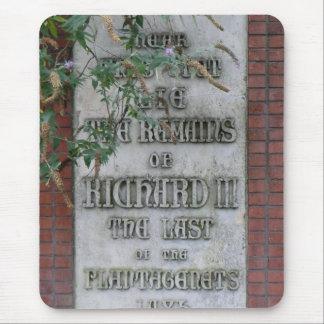 Monumento de Richard III en Leicester, Inglaterra Alfombrillas De Ratón