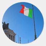 Monumento de Roma - de Vittorio Pegatina Redonda