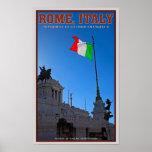 Monumento de Roma - de Vittorio Poster