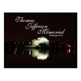 Monumento de Thomas Jefferson, C.C. de Washington Postal