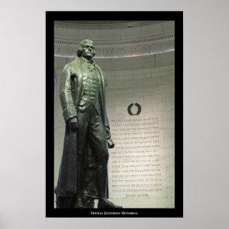 Monumento de Thomas Jefferson Posters
