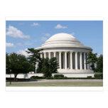 Monumento de Thomas Jefferson Tarjetas Postales