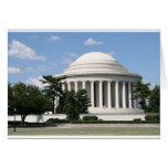 Monumento de Thomas Jefferson Tarjetón