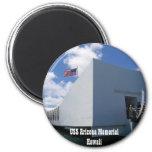 Monumento de USS Arizona - Hawaii Iman Para Frigorífico