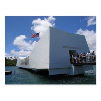 Monumento de USS Arizona - Hawaii Postales