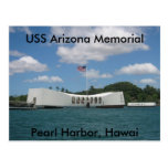Monumento de USS Arizona, Pearl Harbor, Hawai Postal