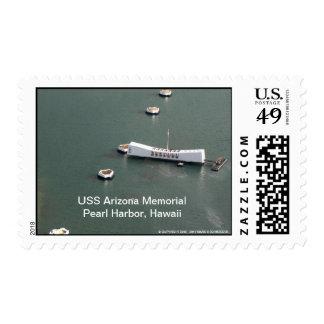 Monumento de USS Arizona, Pearl Harbor, Hawaii Timbres Postales