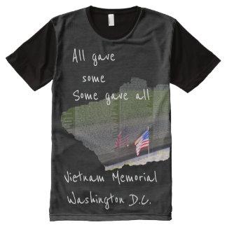 Monumento de Vietnam - algo dio todos - camiseta
