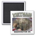 Monumento de Vietnam Imán De Nevera