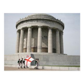 Monumento de Vincennes Rendevous Tarjetas Postales