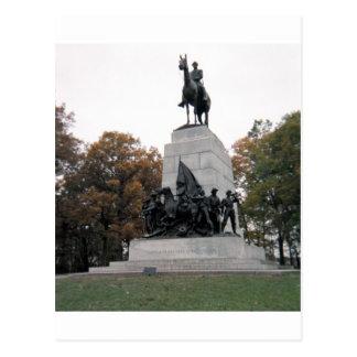 Monumento de Virginia en Gettysburg NMP Postales